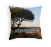 Just Before Dusk Throw Pillow