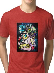 Ideals and Truth:Kindness and Chaos Tri-blend T-Shirt