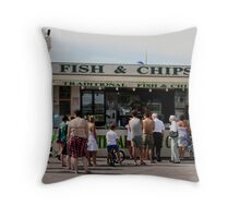 A British Institution Throw Pillow