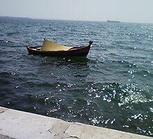 Alone into the sea by korniliak