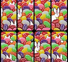 The Easter bunny and the jelly bean invasion by UpliftingChange