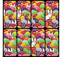 The Easter bunny and the jelly bean invasion Photographic Print