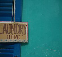Laundry Here by FlyAwayPeter