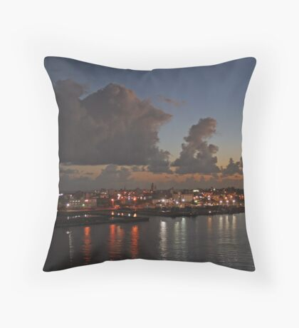 San Juan sunrise Throw Pillow
