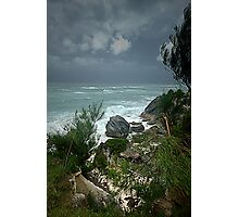 Hurricane Passes by Bermuda Photographic Print