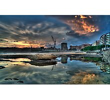 Newcastle Sunset HDR Photographic Print