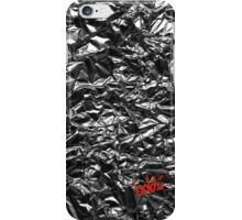 Metallic Silver iPhone Case/Skin