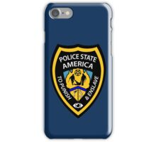 Police State America iPhone Case/Skin