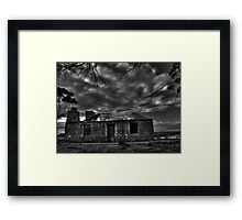 Back to The Past Framed Print