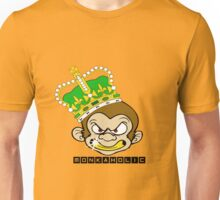 Monkaholic king  Unisex T-Shirt