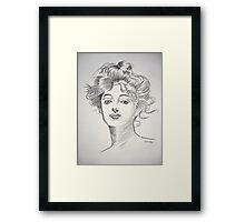 Madame Framed Print