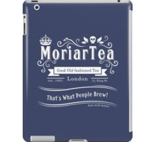 MoriarTea 2014 Edition (white) iPad Case/Skin