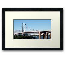The Forth Road Bridge Framed Print
