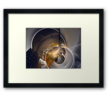 Finding new galaxies Framed Print
