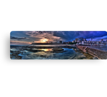Newcastle baths HDR panoramic Canvas Print