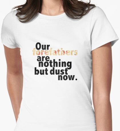 FUN Forefathers Womens Fitted T-Shirt