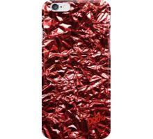 Metallic Red iPhone Case/Skin