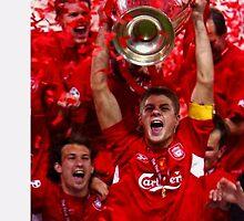Steven Gerrard 1998-2015 Liverpool by Niftycallum