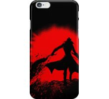 Born from blood iPhone Case/Skin