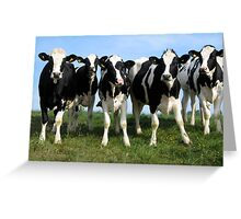 'The Udder Gang - Part 2' Greeting Card
