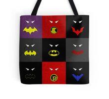 Minimalist Bat Family Tote Bag