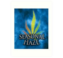 Seasonal Haze 4 Art Print