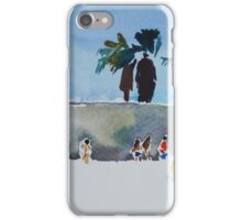 Sardinia beach iPhone Case/Skin