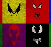 Minimalist Marvel by Ryan Heller