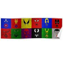 Minimalist Marvel Poster