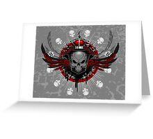 Amulet Skull Greeting Card
