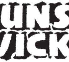 BrunsWicked (black) Sticker