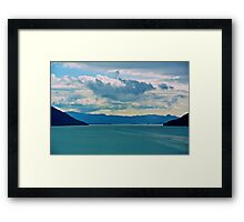 Alaskan Clouds Framed Print