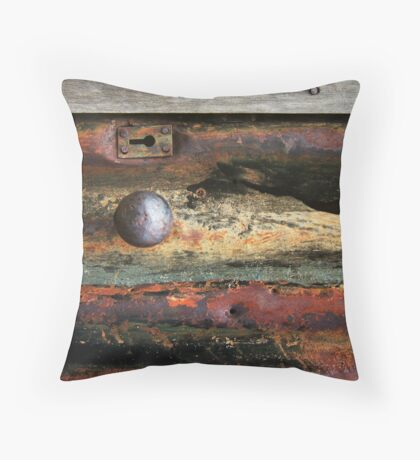 Moon Key Throw Pillow