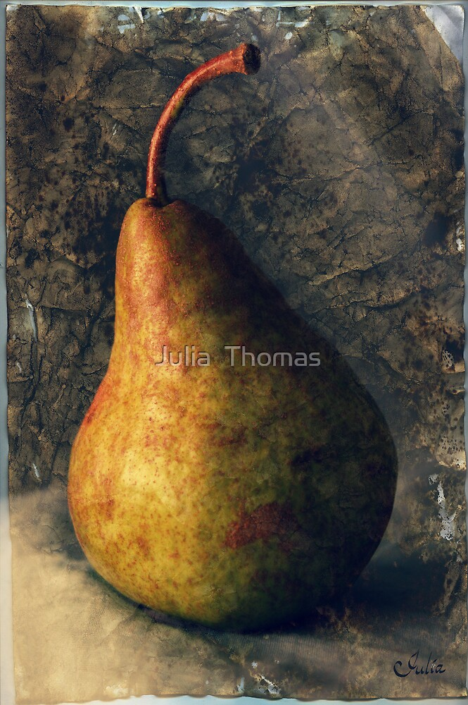 My Mum Likes To Paint Pears by Julia  Thomas