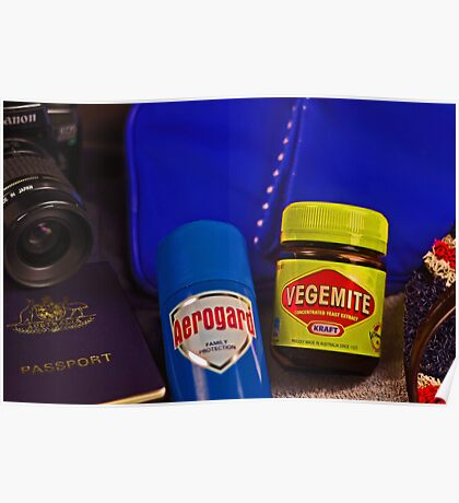 Aussie Travel Essentials  Poster