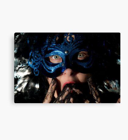 Masked Suprise Canvas Print