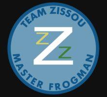 Master Frogman Team Zissou T Shirt One Piece - Short Sleeve