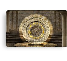 The vault of Time Canvas Print