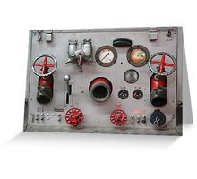 Firemans knobs Greeting Card