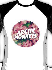 Floral Arctic Monkeys logo T-Shirt