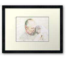 Tender Touch Framed Print