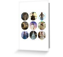 Once Upon A Time Princesses Greeting Card