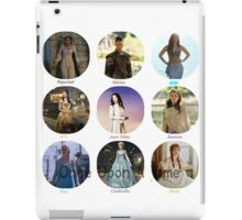 Once Upon A Time Princesses iPad Case/Skin