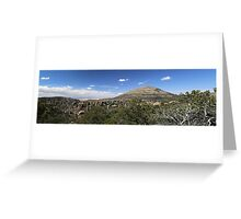 Chiricahua National Monument Panorama Greeting Card