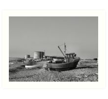 Fishing boats from Hythe Art Print