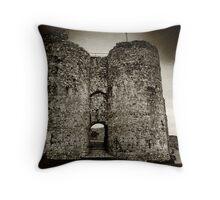 Criccieth Castle Throw Pillow