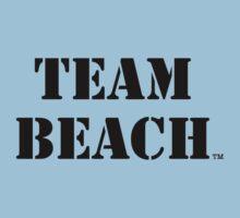 TEAM BEACH Basic Tees, Tanks, & Hoodies (Black Text) Kids Clothes