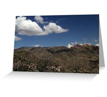 Chiricahua National Monument Landscape 2 Greeting Card