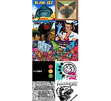 Blink-182 Discography Photographic Print