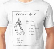 Emergency Belay Knot Unisex T-Shirt